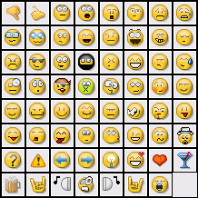 Nerdcore emoticons